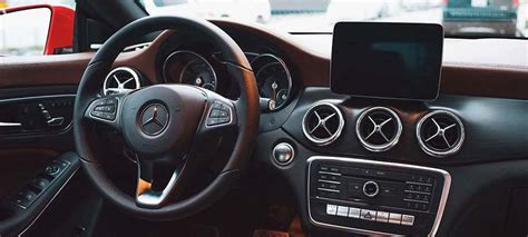 mercedes benz cla interior features seating