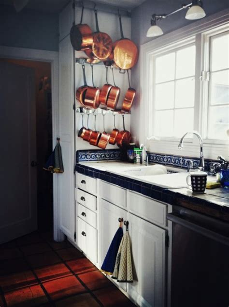 creative ideas  organize pots  pans storage