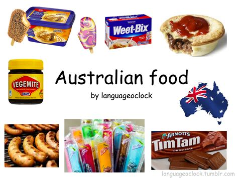 cuisine o australian food language o 39 clock