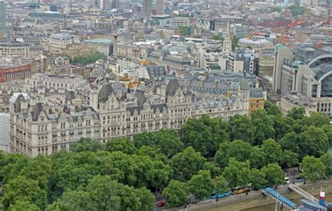 Royal Horseguards From The London Eye