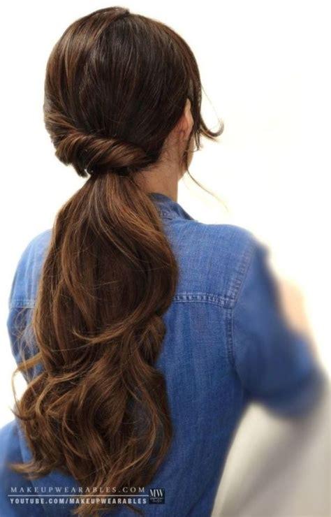 easy  quick work hairstyles  medium hair quick