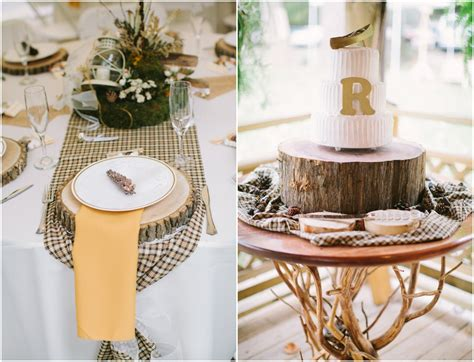 country wedding table decorations elegant virginia woodland rustic wedding rustic wedding chic