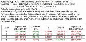 Zinsen Berechnen Bearbeitungsgebühr : sparen zinsen zinseszins bungsaufgaben realschulabschluss ~ Themetempest.com Abrechnung