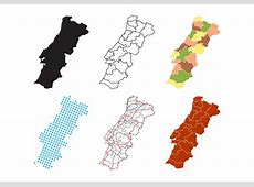 Portugal Map Vector Download Free Vector Art, Stock