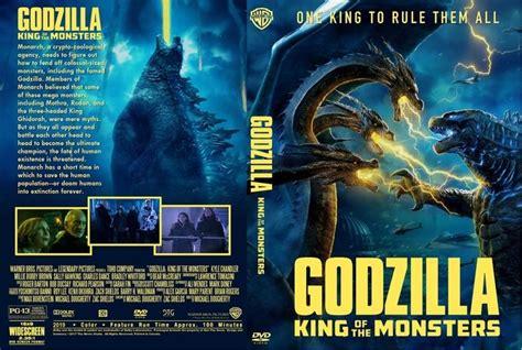 King Of The Monsters (2019) Dvd Custom Cover