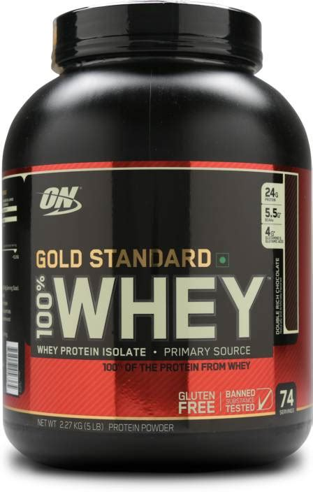 Optimum Nutrition Gold Standard 100% Whey Protein Price in