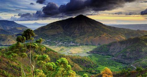 gambar pemandangan alam minangkabau rahman gambar
