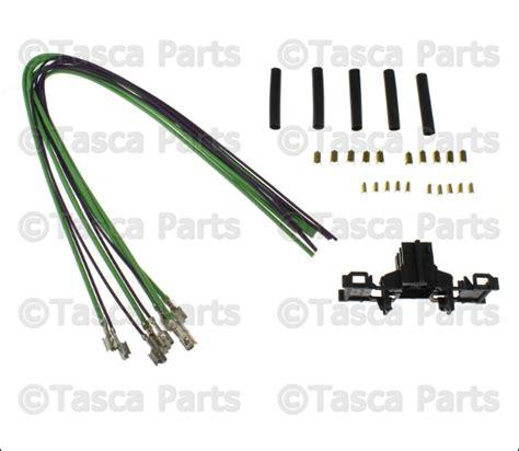 New Oem Mopar Blower Motor Speed Switch Wiring Harness Ram