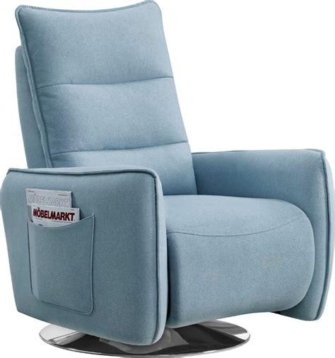 Designer Recliners by Divani Casa Fairfax Modern Blue Fabric Recliner Chair