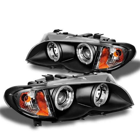 bmw halo lights spyder 2002 2005 bmw e46 3 series headlights