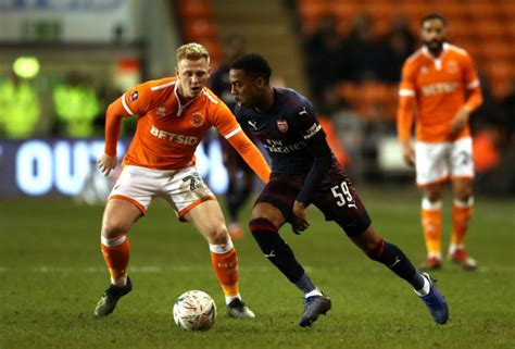 FA Cup Third Report: Blackpool v Arsenal 05 January 2019