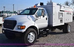 2000 Ford F750 Vacuum Truck