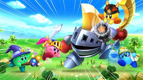 Team Kirby Clash Deluxe For Nintendo 3ds