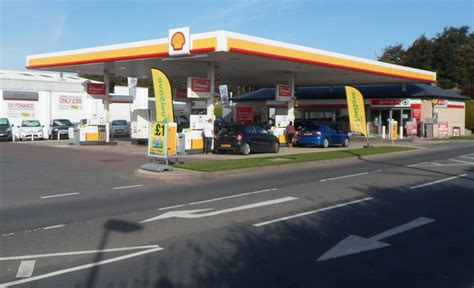 Shell Garage And Spar Store, Draycott, © Jaggery