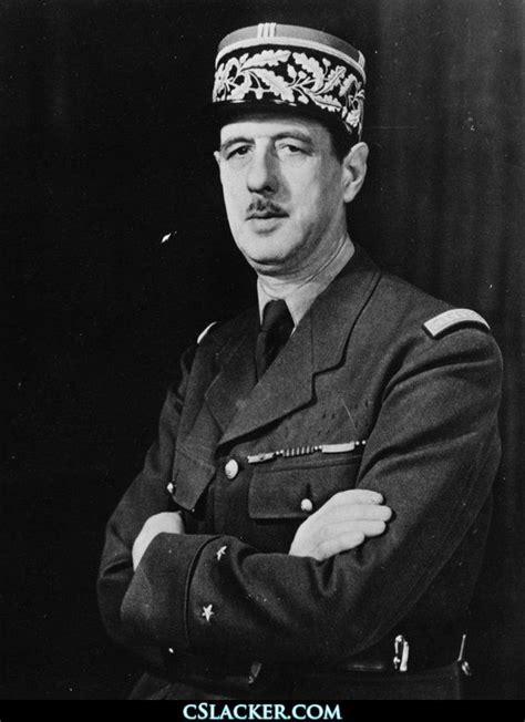 Charles De Gaulle #France #President #50s #militar | 歴史 ...