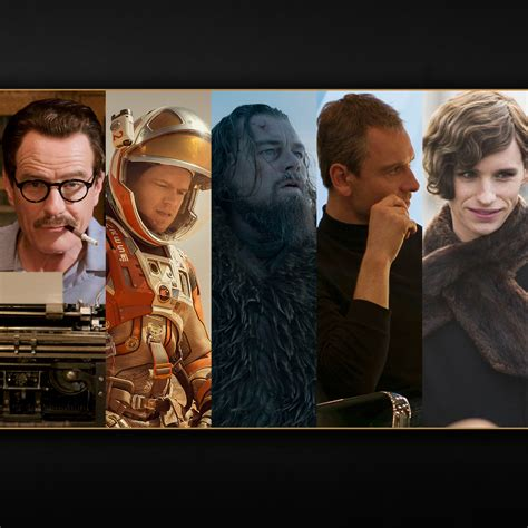 2016 oscar best actor winner best actor nominations 2016 oscars oscars 2016 news