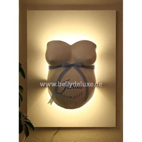 gipsabdruck mit indirekter beleuchtung bausatz baby