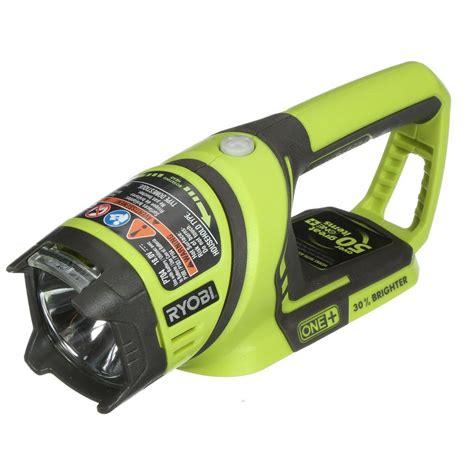 new ryobi 18v one cordless flashlight area light p704