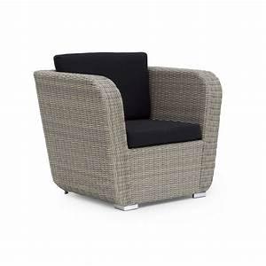 Fauteuil En Resine : fauteuil de jardin en r sine tress e brin d 39 ouest ~ Teatrodelosmanantiales.com Idées de Décoration