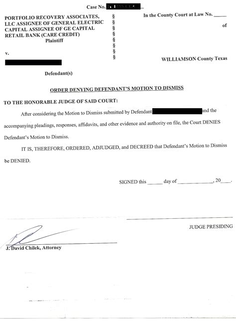 sued  portfolio associates  texas williamson