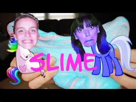 comment faire du slime fluffy licorne