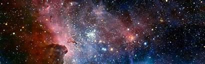 Space Nebula Display Desktop Wallpapers Backgrounds Multiple