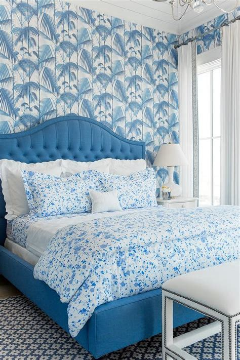 Blue Bedroom Wallpaper by Blue Paint Splatter Wallpaper Design Ideas