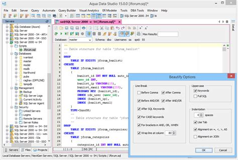 Sql Queries & Analysis Tool