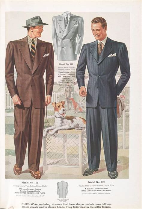 Suit Drape - drape cut suit 20th century s inspiration