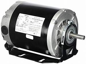 Electric Motor 1  2 Hp  1725 Rpm  115 Volts  48  56 Frame  Odp Belt Drive Blower