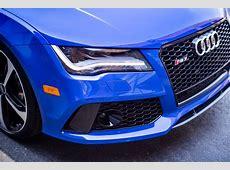 Audi RS7 Triplets Nagoro Blue, Estoril Blue and Sepang