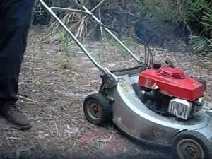 Honda Hr214 Lawn Mower Self- Propelled
