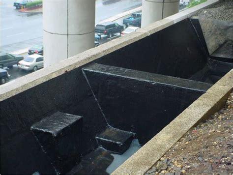 waterproofing concrete planters plaza deck terrace waterproofing hydro corr