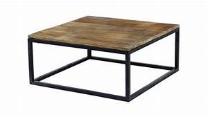 Table Basse Bois Industriel : table basse de salon vintage smoldy mobilier moss ~ Teatrodelosmanantiales.com Idées de Décoration
