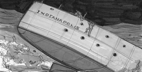 uss indianapolis sinking animation storyboards jeff coatney