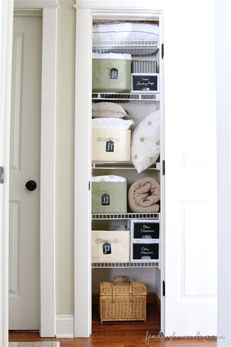 Hemnes Linen Cabinet by 20 Beautifully Organized Linen Closets The Happy Housie