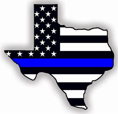 Thin Line Law Enforcement Police Flag Clipart