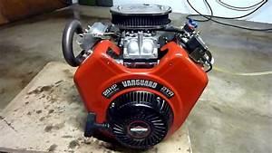Briggs U0026stratton Vanguard 570ccm 20hp V Twin Race Kart