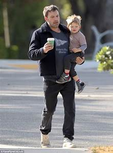 Ben Affleck with son Samuel as they grab breakfast ...