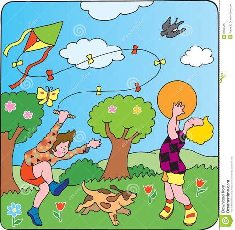 les jeux des enfants photo libre de droits image 8364515