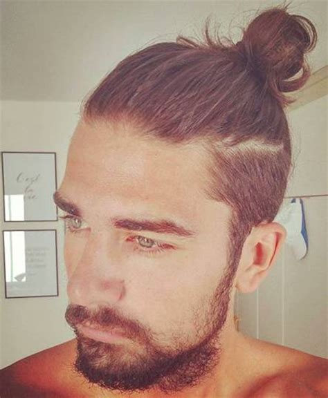How to Get a Man Bun Hairstyle Guide   Man Bun Hairstyle