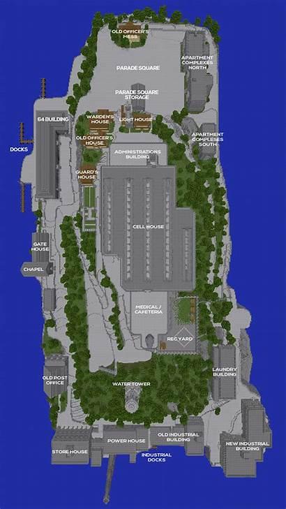 Minecraft Plugin Map Island Alcatraz Built Any