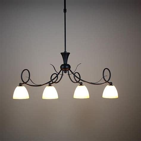 Pendelleuchte Hängeleuchte Landhaus Glas Lampe Leuchte