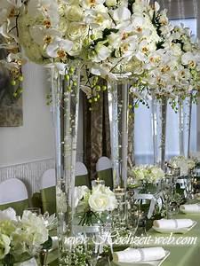 Deko Für Große Vasen : glas vase mit orchideen hochzeit orchidee pinterest vasen glas und hochzeitsdeko ~ Bigdaddyawards.com Haus und Dekorationen