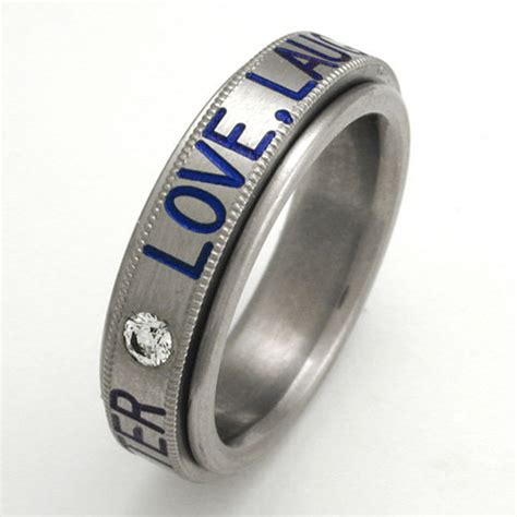 custom titanium rings with your design titanium wedding rings handcrafted by exotica jewelry