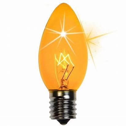 Christmas Yellow Twinkle Bulb Bulbs C9 Lights