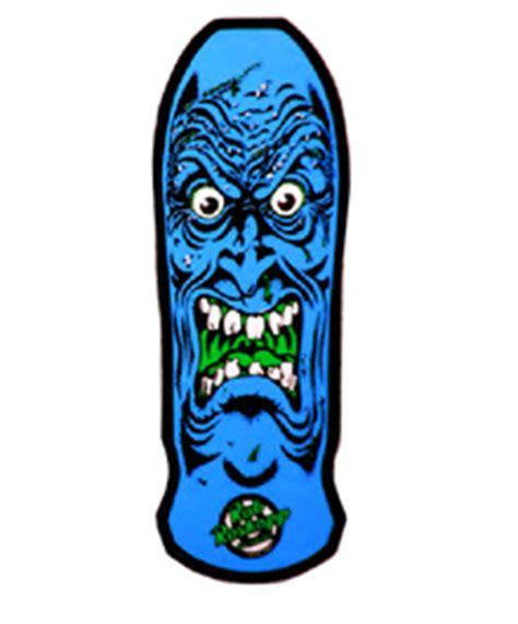 vtg santa rob roskopp deck sma skateboard school nos skate sticker