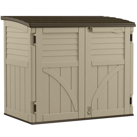 Suncast Sheds Home Depot by Suncast 2 Ft 8 In X 4 Ft 5 In X 3 Ft 9 5 In Resin
