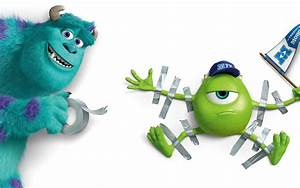 Sulley and Mike Wazowski - Monsters University wallpaper ...