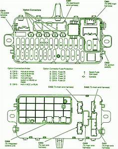 93 Honda Del Sol Fuse Box Diagram